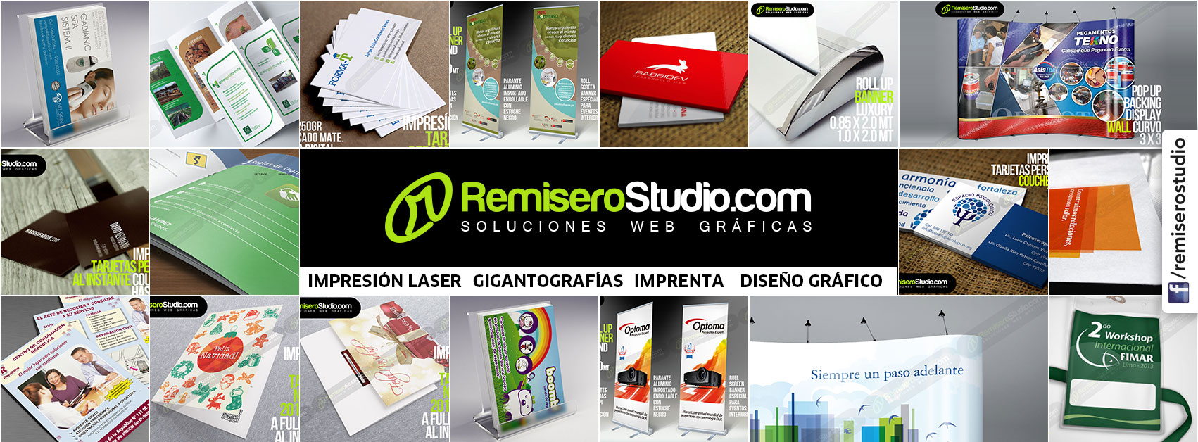 RemiseroStudio Soluciones Web Gráficas | Imprenta Láser Digital
