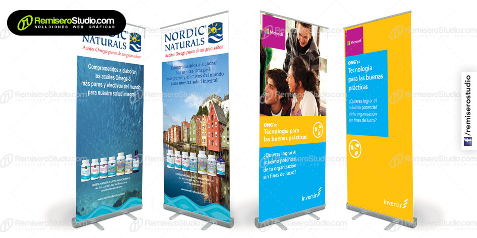 Roll Screen Banner: Impresos mas recientes para Perú
