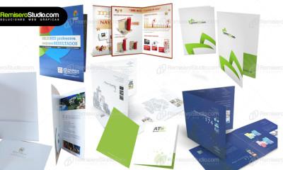 Folders y carpetas corporativas para empresas en Perú