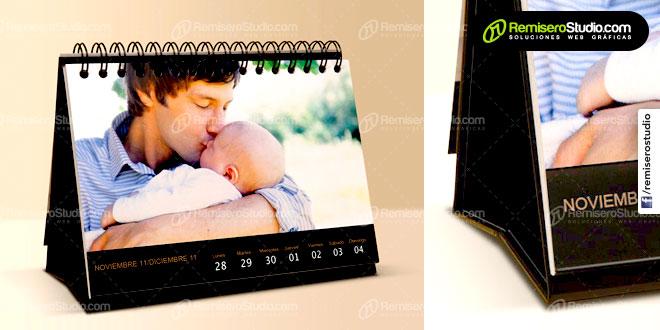 Impresión de calendarios de escritorio para empresas en Perú