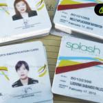 Fotochecks impresos para el personal de la empresa de nuestro cliente