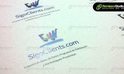 Impresión en cartulinas ecológicas recicladas para tarjetas personales