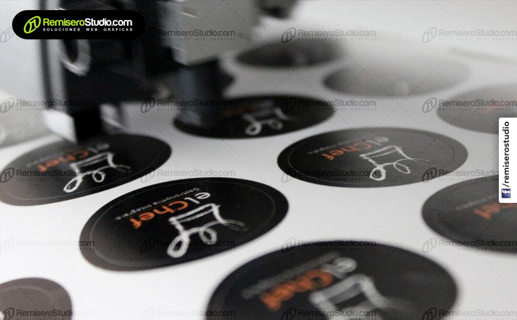 Etiquetas adhesivas, Impresión de stickers y calcomanías
