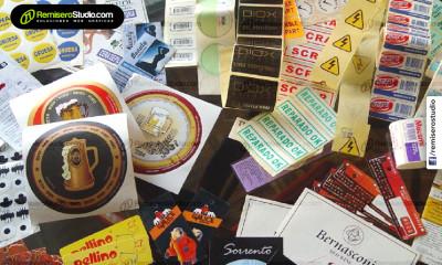 Impresión y troquelado de etiquetas adhesivas para empresas en Perú