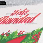 lazo-rojo-navideno-guirnalda--verde-tarjeta-navidad-empresas-2016-05