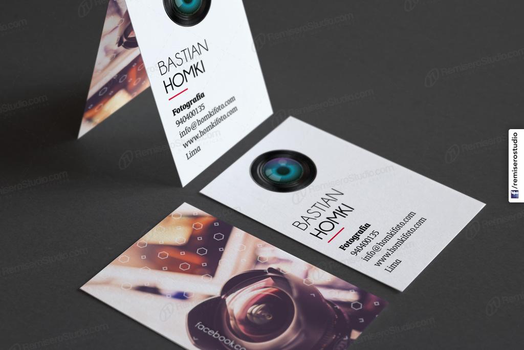 tarjeta fotografia profesional