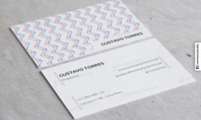 Tarjetas de presentación Arquitectura