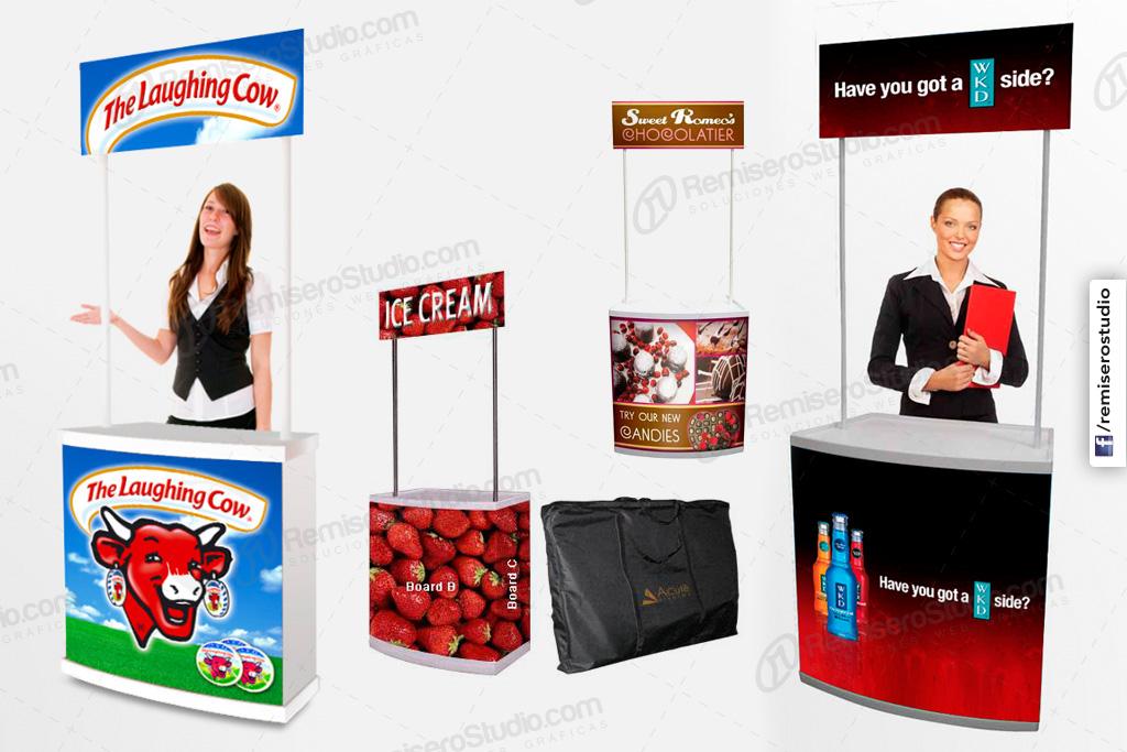 Display Counter Stand Modulo Promocional Para Eventos