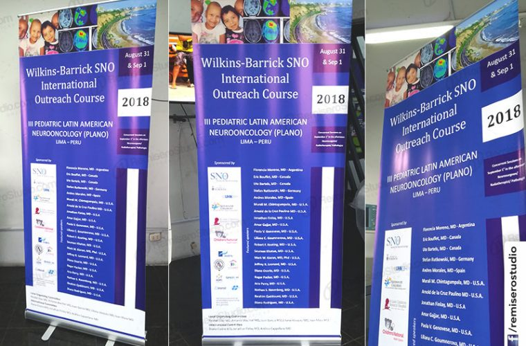 Roll Up Banner 085 x 200 impreso a full color