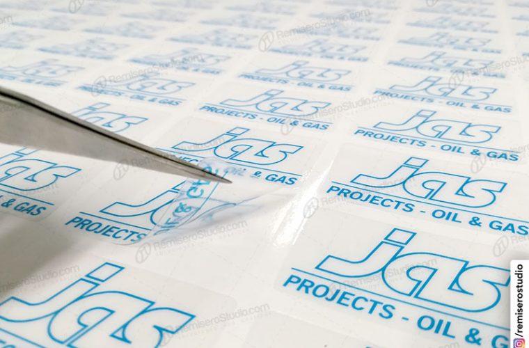 Stickers transparentes en vinil adhesivo para cascos de seguridad
