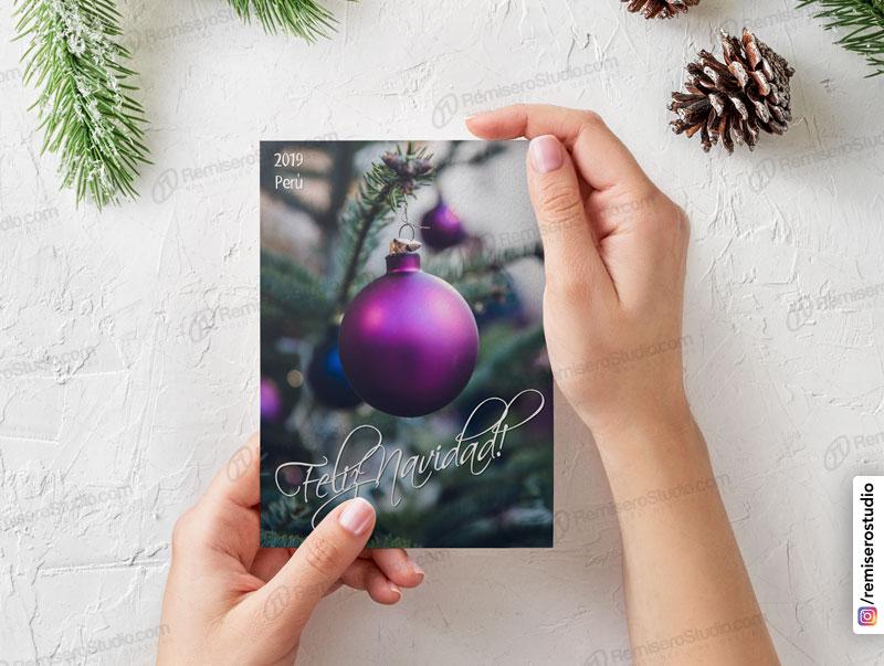 Tarjetas navideñas para empresas